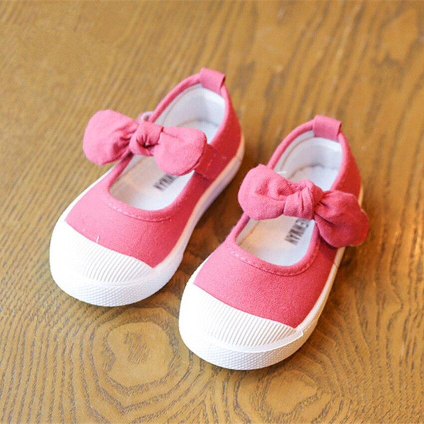 BOKEN Kids Baby Girl Dorywczo Brezentowych Butów Dzieci Miękkich - Obuwie dziecięce - Zdjęcie 5