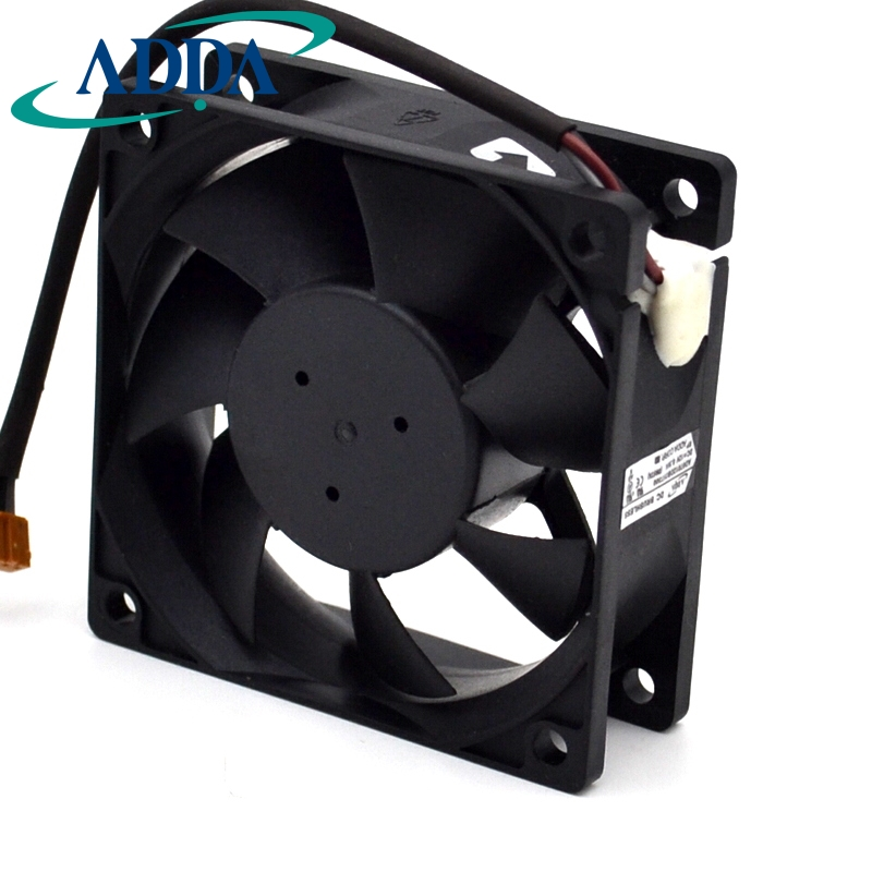 Free shipping original ADDA Free shipping 7025 7cm AD07012DB257300 12V CPU fan cooling original sunon pmd1207ptv1 a 7025 magnetic levitation maintenance bearing large air volume 7cm fan 70x70x25mm