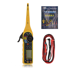 Multi-function car Circuit Tester Multimeter Lamp 3 in 1 Car Repair Automotive Electrical Multimeter jiaxun ms8211 free shipping