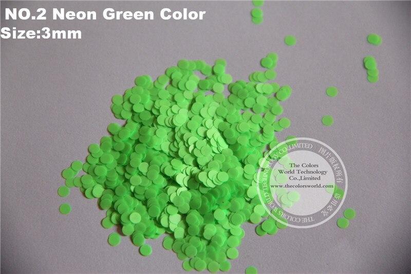 ⑧Verde de neón colores resistente al solvente circledot formas ...