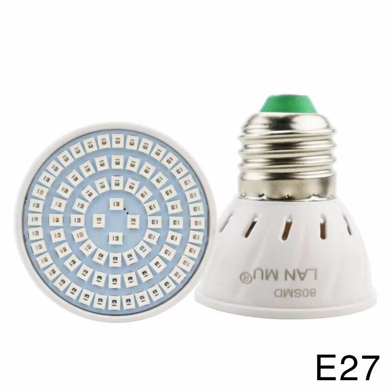 wholesale 10 Pcs Full Spectrum E27 220V LED Plant Grow Light Bulb For Indoor Garden Plants Flower Hydroponics in LED Grow Lights from Lights Lighting