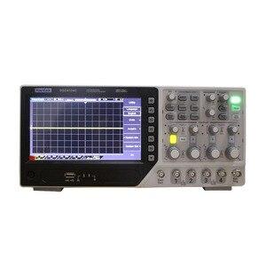 Image 1 - جهاز رسم الذبذبات الرقمي من Hantek طراز DSO4104C مكون من 4 قنوات 100 ميجاهرتز ومزود بجهاز رسم الذبذبات بشاشة 7 بوصة وشاشة Lcd مع منفذ USB