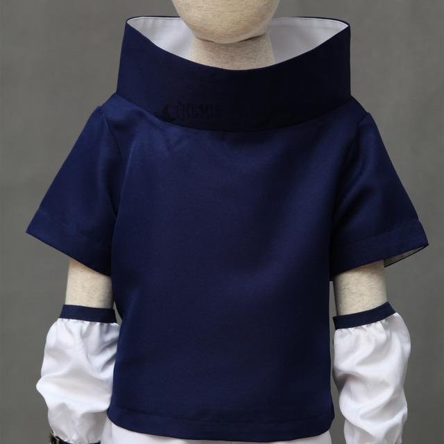 Naruto Uchiha Sasuke Costume And Blue Headband