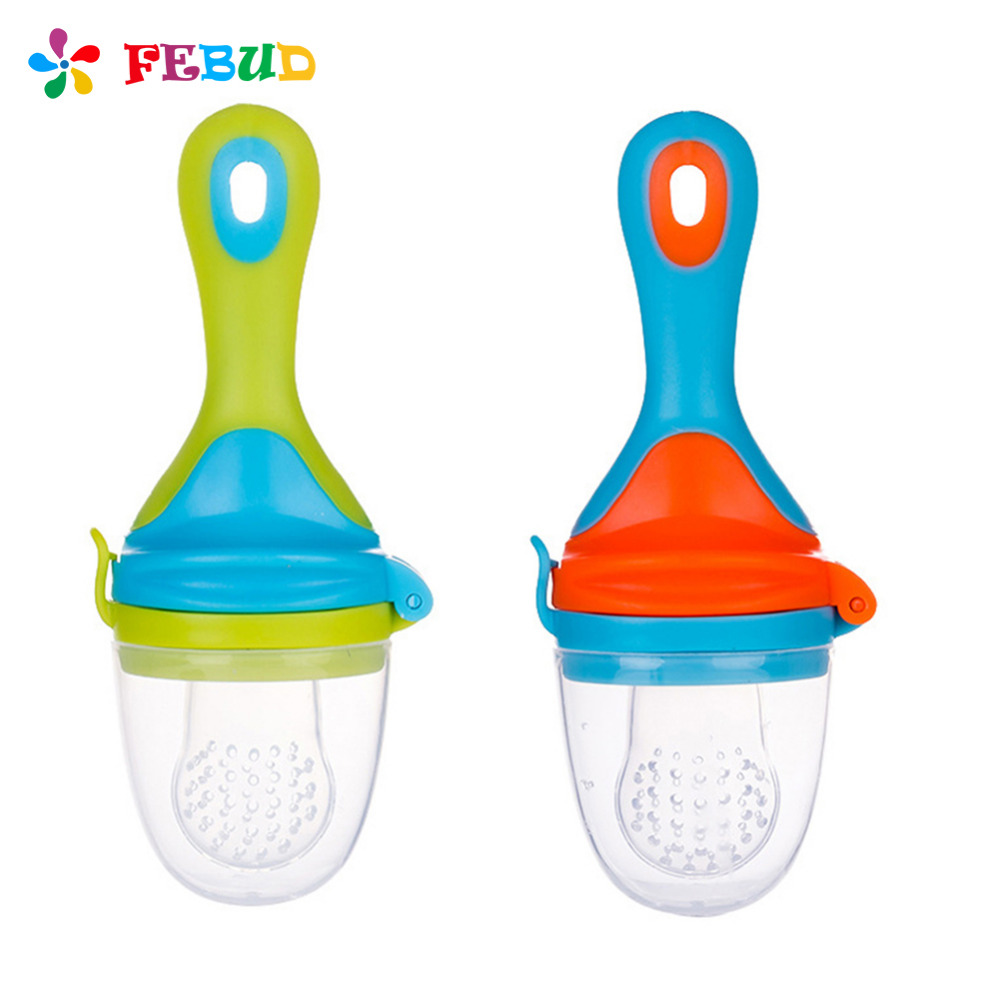 Baby Pacifier Fresh Fruit Vegetable Feeder Infants Nipples Safe Baby Feeding Supplies Pacifier Bottles