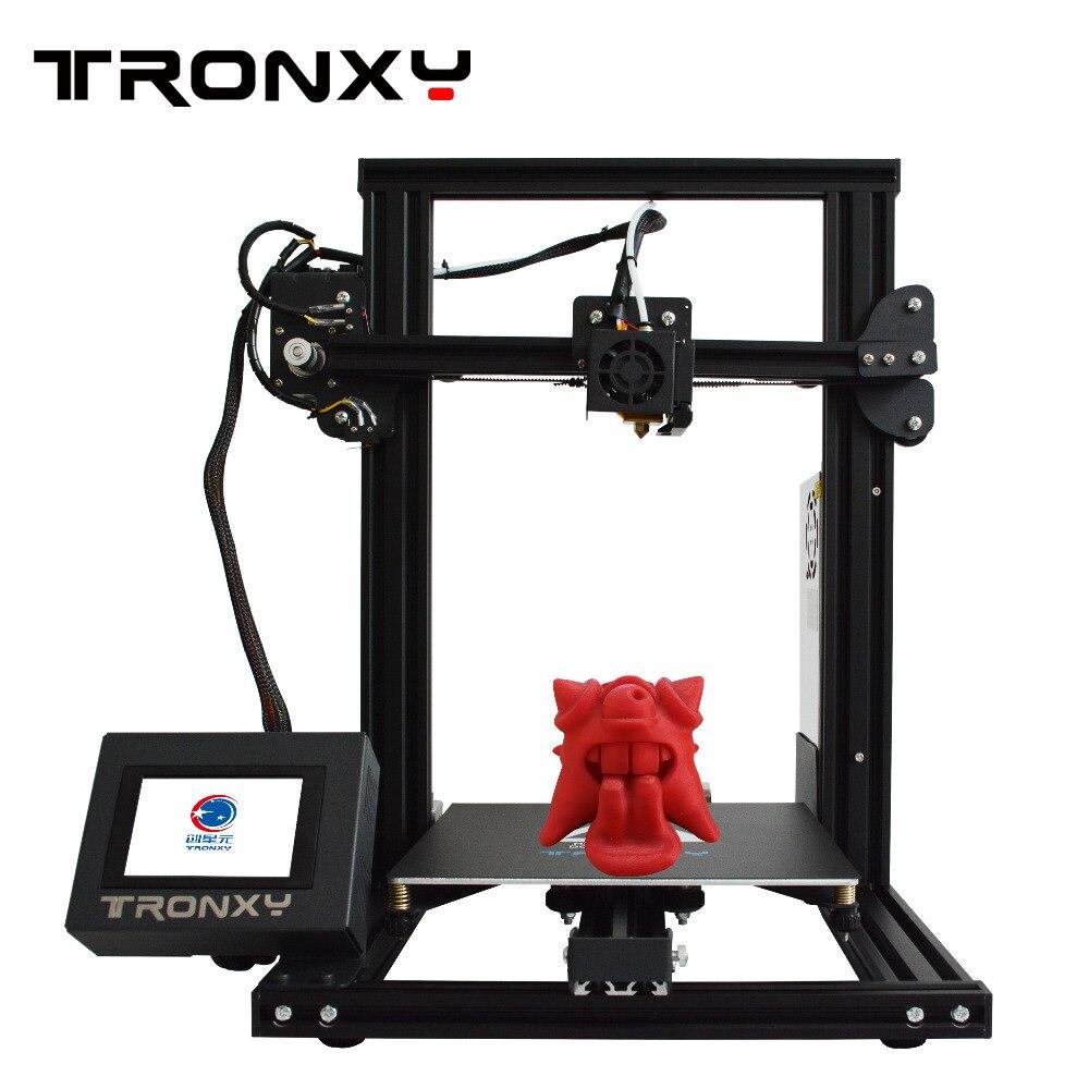 Tronxy imprimante 3D I3 Mega grande taille entièrement en métal TFT écran tactile 3d imprimante haute précision 3D Drucker Impresora pièces