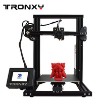 Tronxy 3D Printer I3 Mega Large Plus Size Full Metal TFT Touch Screen 3d Printer High Precision 3D Drucker Impresora Parts