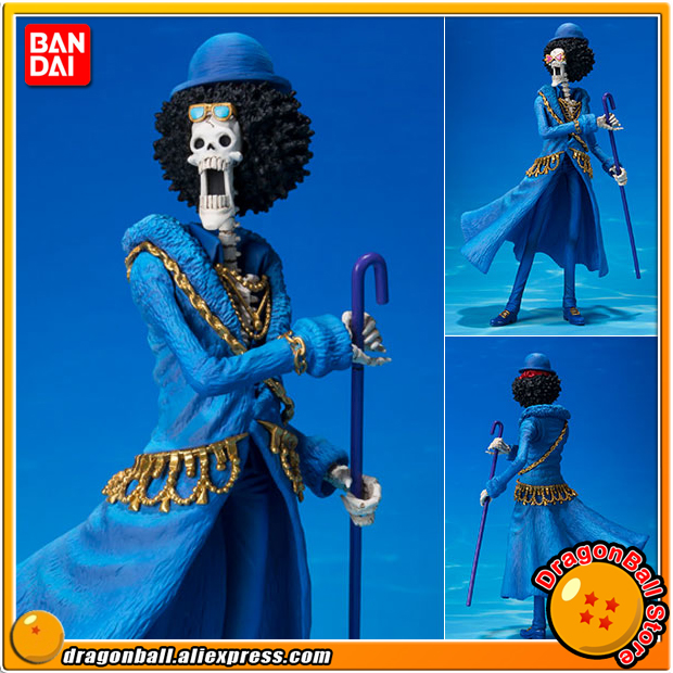 Anime ONE PIECE Original BANDAI Tamashii Nations Figuarts ZERO Collection Figure - Brook -ONE PIECE 20th Anniversary ver.- japanese amine original bandai figuarts zero sabo 5th anniversary edition one piece action figure