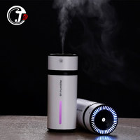 230ML Ultrasonic Humidifier Essential Aromatherapy Diffusers With LED Night Light Car Air Purifier USB Humificador For