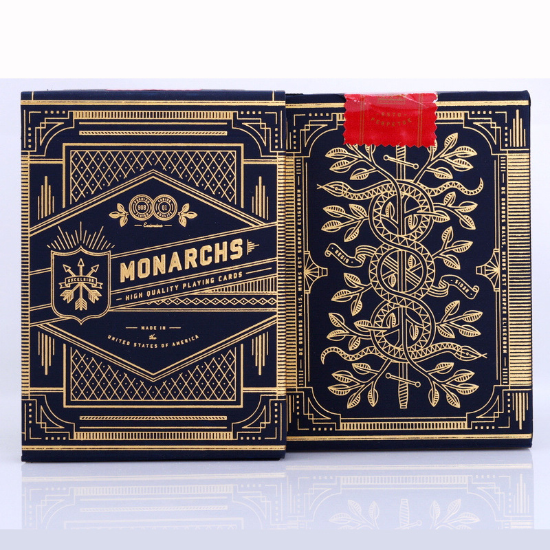 Monarch Deck Playing Cards Magic Category Poker Cards for Professional Magician