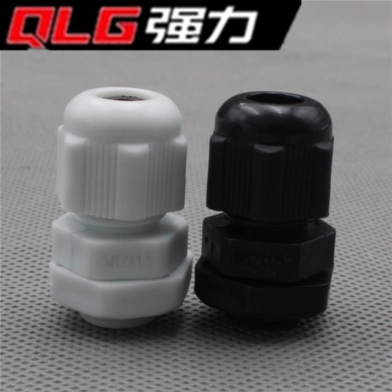 10Xip68 m12x1.5 for 3-6.5mm cable waterproof plastic cable gland connector sl