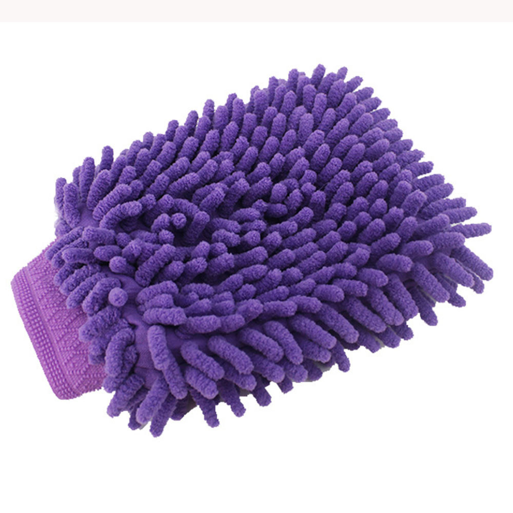Easy Microfiber Car  brush cleaner Kitchen Household Wash Washing Cleaning Glove Mit Detailing Brushes