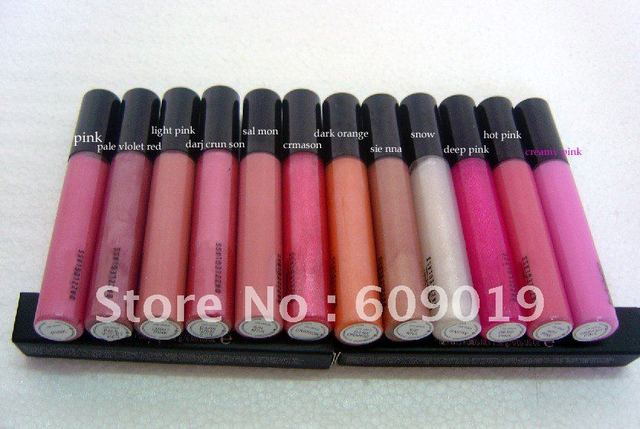 New lipglass with english colours name BRILLANT A LEVRES,120pcs/lot