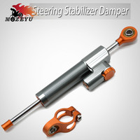 Universal Motorcycle Damper Steering Stabilize Safety Control Aluminum For Yamaha XMAX 300 X MAX 300 XMAX125 XMAX400 2017 2018