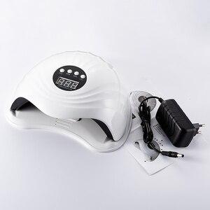 Image 5 - SUN5Xプラス 108 ワットuv ledランプネイルドライヤーlcdディスプレイ用硬化すべてのタイプジェルポ機用