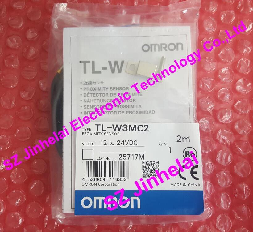 100% New and original TL-W3MC2, TL-W3MC1 OMRON Proximity switch 12-24VDC 2M [zob] 100% brand new original authentic omron omron proximity switch tl m2me1 2m