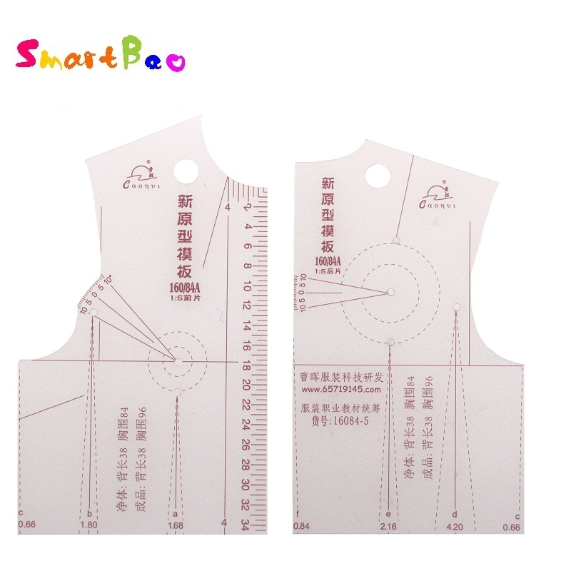 1:5 Fashion Designs Ruler Drafting Templete Clothing Design; Ruler Just Like The Picture