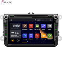 TOPNAVI 8'' Octa Core 4GB Android 6.0 Car Radio for SKODA OCTAVIA II/OCTAVIA III/FABIA/SUPERB/POLO/EOS/SCIROCCO/T5/TRANSPORTER
