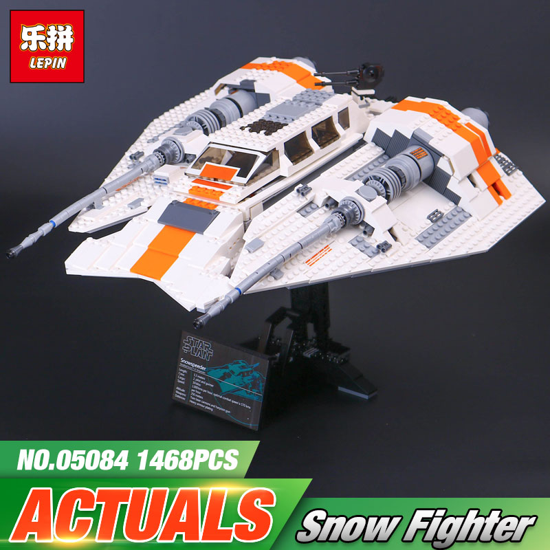 Lepin 05084 Star S Wars the Snowspeeder Set Self-Lock Building Blocks Bricks Educational Toys Gifts Compatible With lego 10129 shirly new rest stop dream house building blocks compatible with lego bricks girl s educational toys birthday christmas gifts
