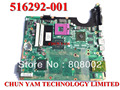 Placa madre original 516292-001 para hp pavilion dv7 dv7-2000 series notebook pc portátil placa base 100% probado trabajo perfecto