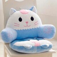 Cartoon Cat Chair Cushion Throw Pillows,Cushions Home Decor,Cute Pillow Seat Cushion,Cushions for Sofas Office Kitchen Chair Pad