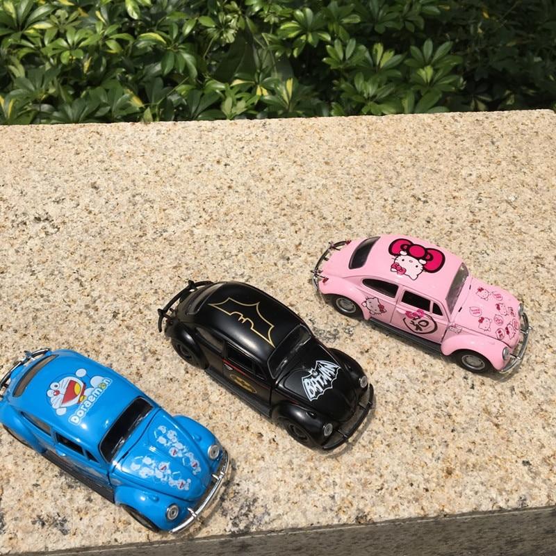 Escarabajo del coche de aleación clásica Diecast modelo de coche - Vehículos de juguete para niños - foto 3