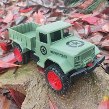 HOT Military Truck Army 1:24 4WD  Wheels Off-Road Car Toy Radio-controlled Cars NEW RC toys for children