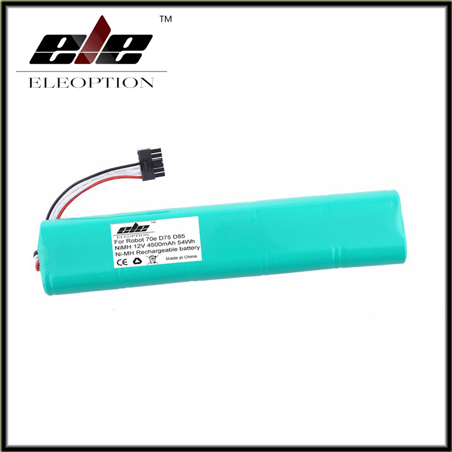 12V 4500mAh 4.5Ah NI-MH Eleoption New Replacement battery for Neato Botvac 70e 75 80 85 D75 D8 D85 Vacuum Cleaner battery
