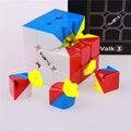 Brinquedo cubo de velocidade stickerless Qiyi valk3 cubo magico profissional brinquedos engraçados para as crianças