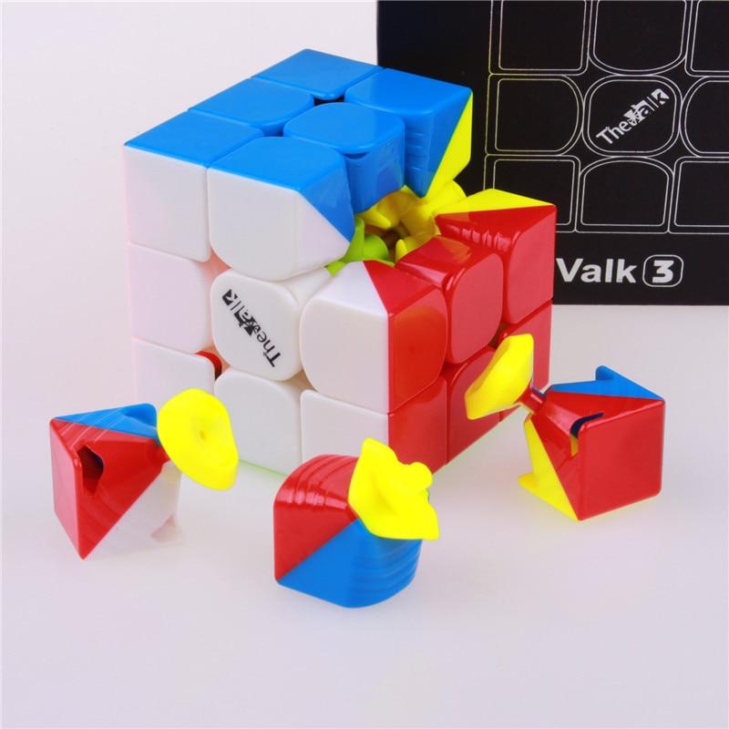 Image 2 - Qiyi el valk3 power m speed cube 3x3x3 magnético stickerless profesional cubo mágico juguetes para niños valk 3 m rompecabezas cubo magnéticoprofessional toyscubo magicocube 3x3x3 -