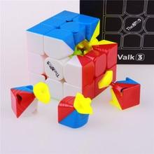 Qiyi valk3 Скорость Cube Игрушка Stickerless Cubo magico Профессиональный забавные игрушки для детей головоломки валк 3 конкурс куб