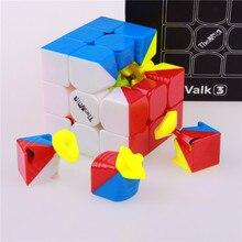 Qiyi valk3 скорость куб игрушки cubo magico stickerless профессиональный забавные игрушки для детей