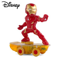 Disney Electric Super Hero Iron Man Robot Car RC Car Marvel Scooter Avengers Remote Control Car Toys Children Birthday Gifts