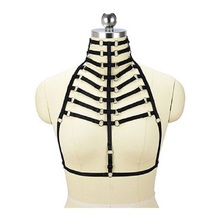 Women's Amazon Leather Chest Harness
