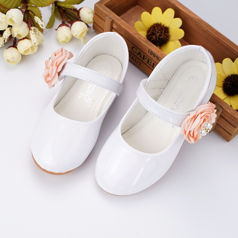 Little Kids Princess Leather Shoes Kids Girls Wedding Shoes Fation Simple Dress Shoes Party Shoes for Girls Pink White Size24-34Little Kids Princess Leather Shoes Kids Girls Wedding Shoes Fation Simple Dress Shoes Party Shoes for Girls Pink White Size24-34