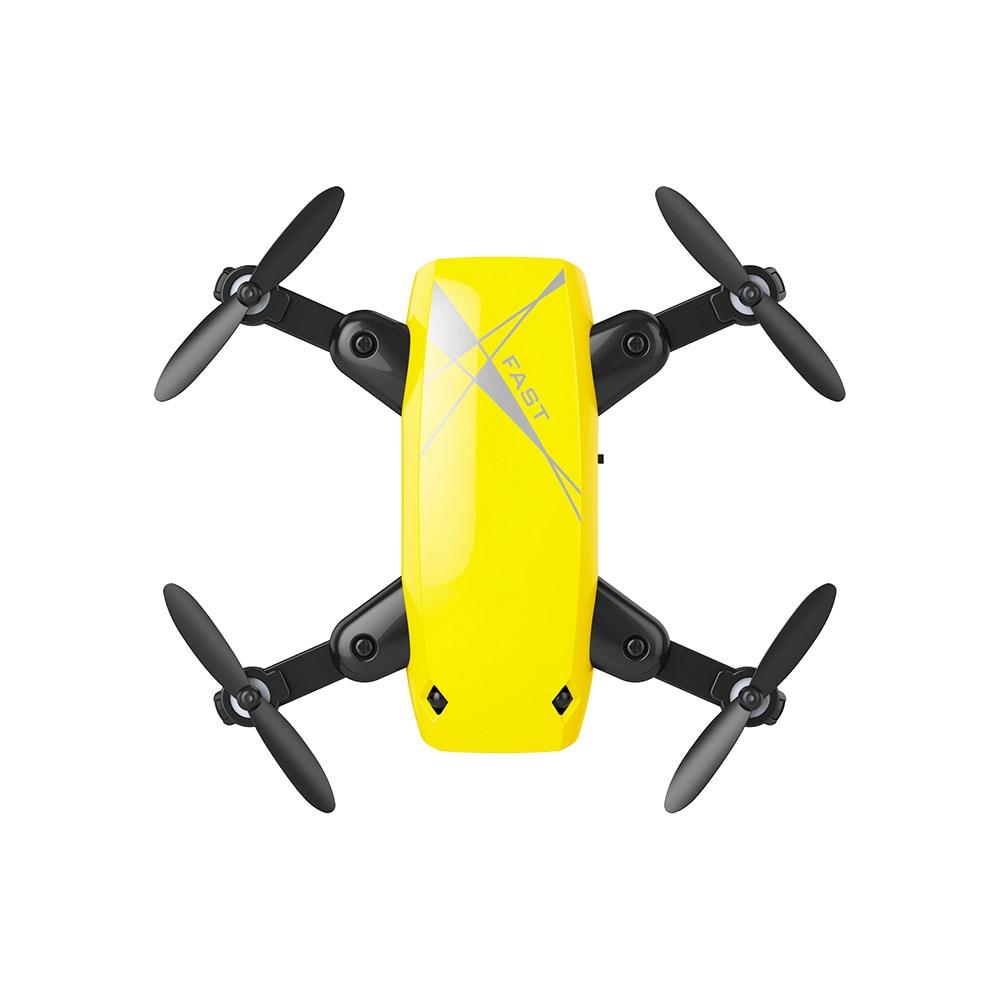 New Cute Mini Drone S9 2.4G 4CH 6-axis Gyro Selfie Drone Headless Mode One Key Return Foldable Dron RC Quadcopter RTF Gift (11)