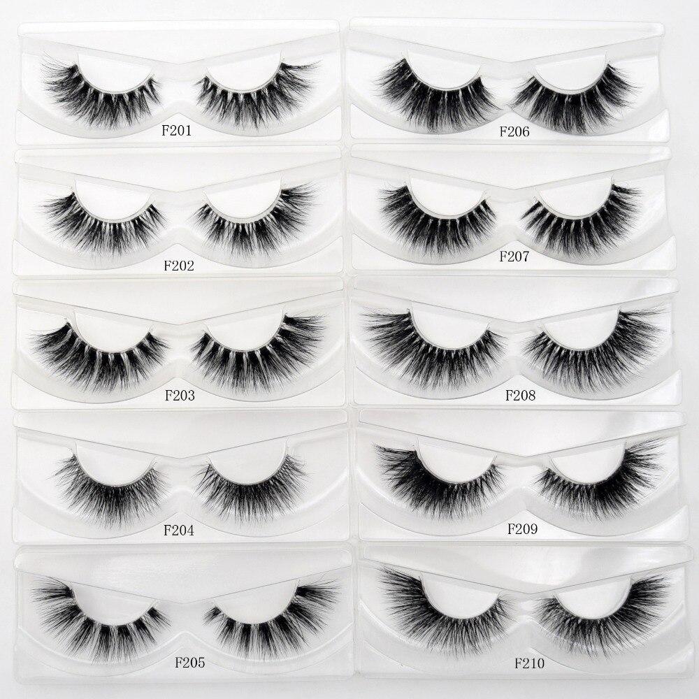 Image 2 - Free DHL 100Pairs Visofree Eyelashes 3D Mink Lashes Invisible Band Mink Eyelashes 17Style Cruelty Free Reusable Lashes Wholesale-in False Eyelashes from Beauty & Health