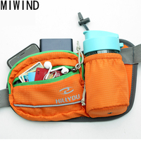 MIWIND Pack Bag Waterproof women Waist Belt Bag Men Unisex Fanny Pack Bum with Water Bottle Holder Riding Waist Bag TYB1031