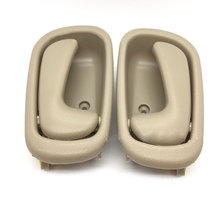 For Toyota Corolla 1998 1999 2000 2001 2002 2PCS Inside Interior Left & Right Door Handle Beige Color Car Styling Accessories