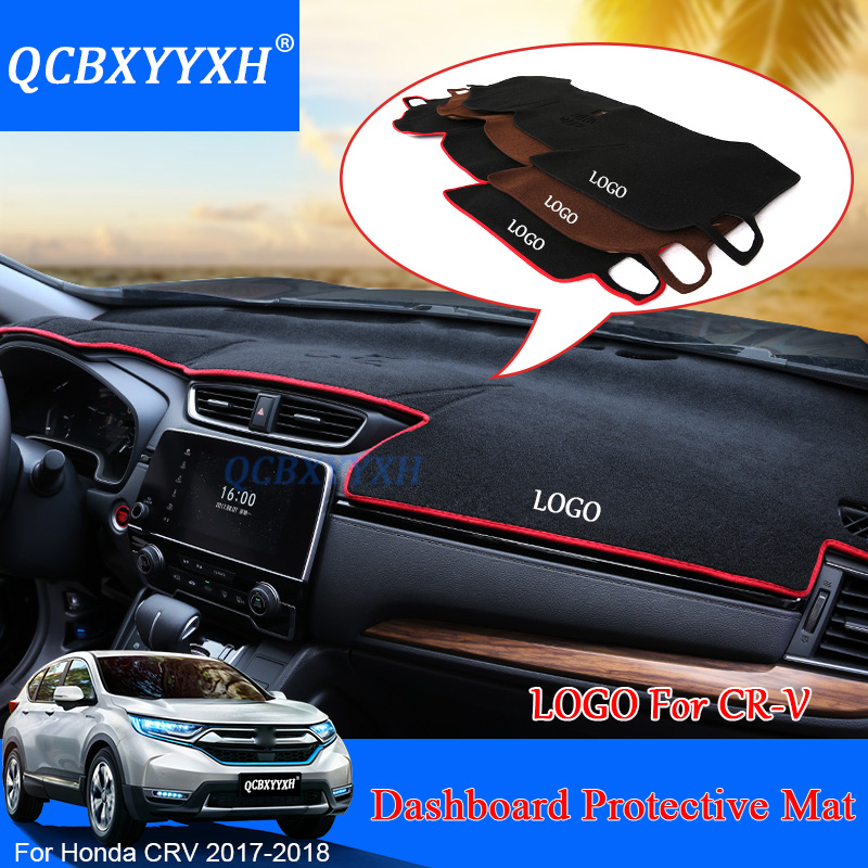 For Honda CRV CR V 2017 2018 LHD Dashboard Mat Protective Interior Photophobism Pad Shade Cushion