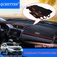For Honda CRV CR V 2017 2018 LHD Dashboard Mat Protective Interior Photophobism Pad Shade Cushion