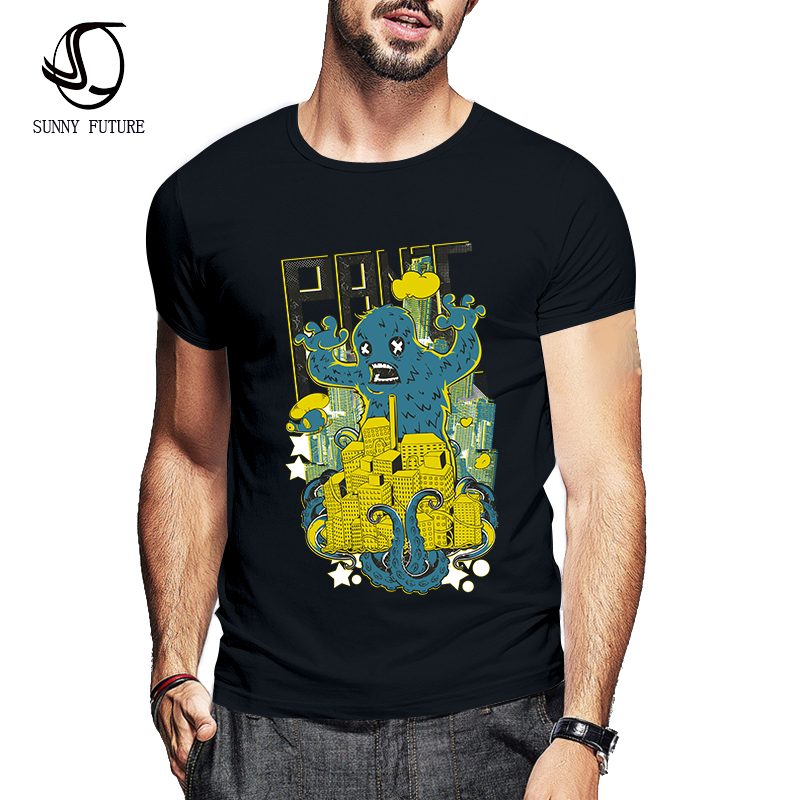 Sunny Future Brand Cotton Funny T Shirts Mens T Shirts