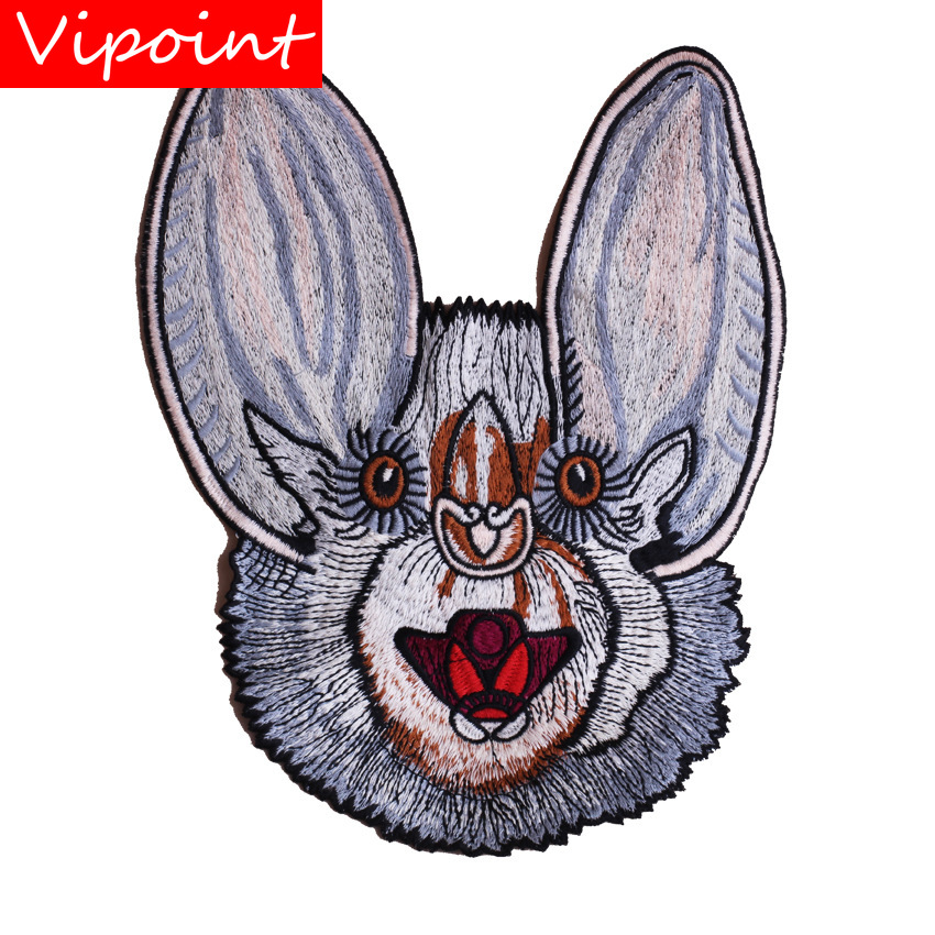 embroidery rabbits patches for jackets cartoon badges for jeans appliques for backpack A311 in Patches from Home Garden