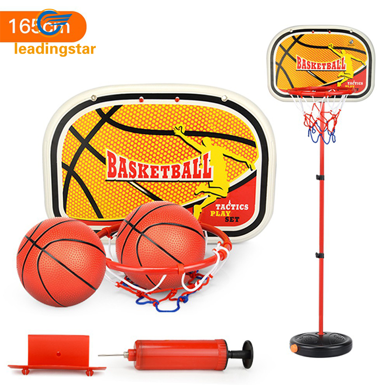 LeadingStar Children Inside and Outside Portable Adjustable Basketball Backboard Stand H ...