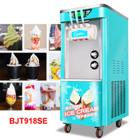 5.8L Ice Cream Machine Soft Ice Cream Machine 2200W Drum Machine Automatic Ice Cream Machine BJT918SE 110V/220V Commercial