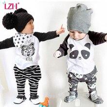 LZH Children Clothes 2017 Autumn Winter Kids Boys Clothes T-shirt+Pants 2pcs Baby Christmas Outfits Suit For Boys Clothing Sets