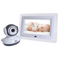 Home Security 2 4GHz Digital Wireless Camera 7 Inch LCD Display Video 2 Way Talk Camera