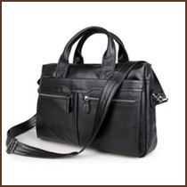 genuine leather handbag for men