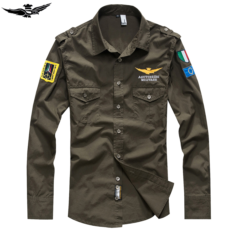 Military Army Shirt Men.BE03