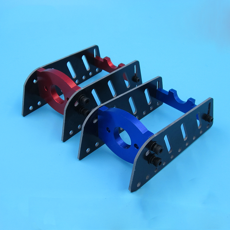 1PC RC Boat Accessories 775 Motor Seat Motor Mount/Holder/Support with Back Bracket and Fiberglass Plate Spare Parts