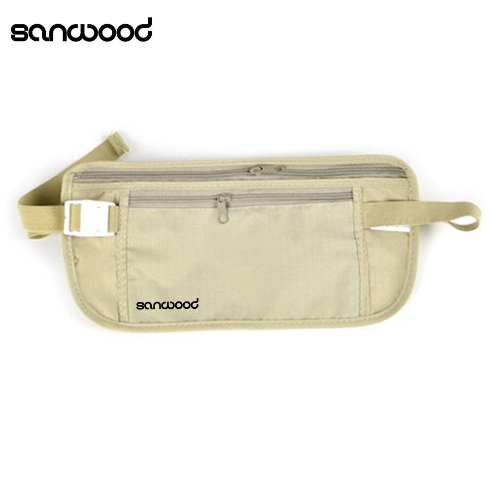 ̿̿̿(•̪ )Mujeres casual viajando almacenamiento zipper bolsa de ...